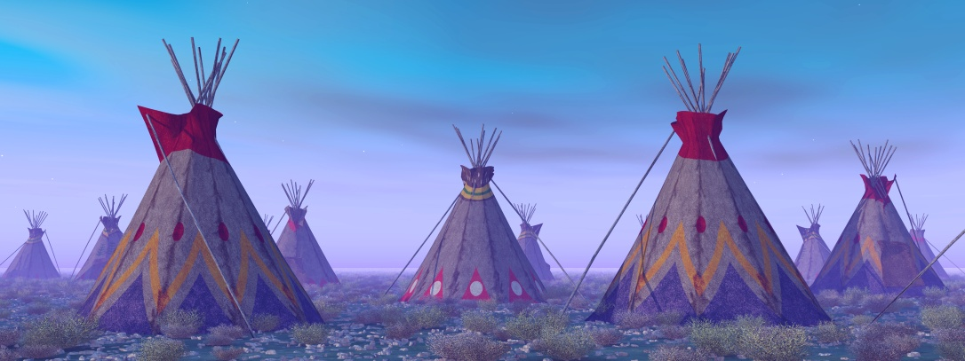 Indian Camp at Dawn